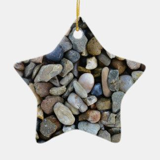 stones texture christmas ornament