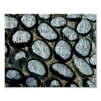 Stones under Water Poster