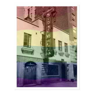 Stonewall Inn Postcard (Rainbow)
