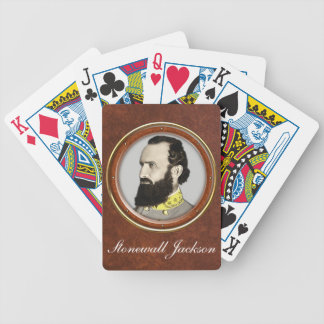 Stonewall Jackson Bicycle Playing Cards