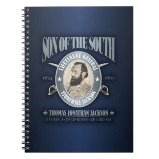 Stonewall Jackson (SOTS2) Spiral Note Book