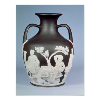 Stoneware, copy of the Portland Vase Poster