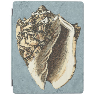 Stonewashed Conch Shell iPad Cover