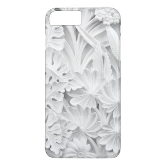 Stonework in a Leaf and Flower Motif iPhone 8 Plus/7 Plus Case