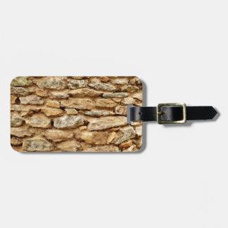Stonework Luggage Tag