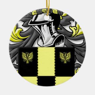 Stonier Coat of Arms Round Ceramic Decoration