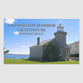 Stonington Harbor Lighthouse, Connecticut Stickers