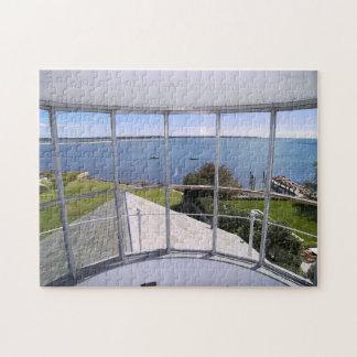 Stonington Harbor Lighthouse, CT Jigsaw Puzzle