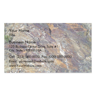 Stony Mountain Landscape Texture Business Cards