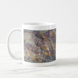 Stony Mountain Landscape Texture Coffee Mugs