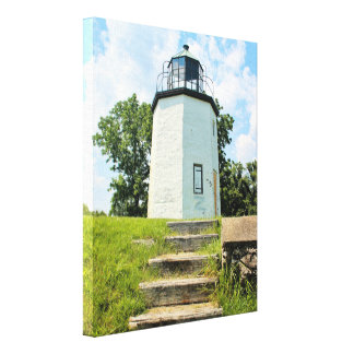 Stony Point Lighthouse, New York Canvas Print