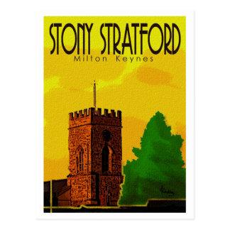 Stony Stratford vintage postcard