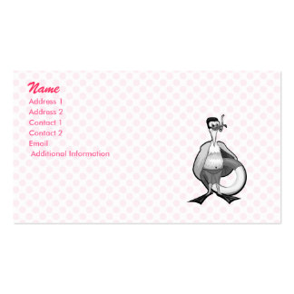 Stoogy Stork Business Card Template