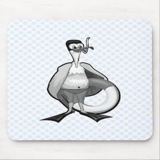 Stoogy Stork Mouse Mats