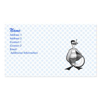 Stoogy Stork Pack Of Standard Business Cards