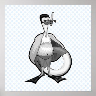 Stoogy Stork Posters