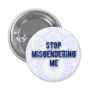 Stop 3 Cm Round Badge
