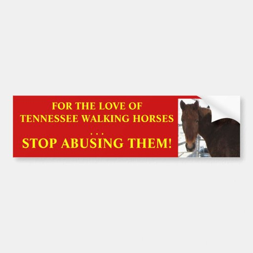 Stop Abuse of Tennessee Walking Horses