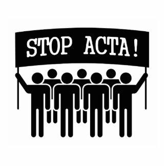 Stop ACTA Acrylic Cut Out