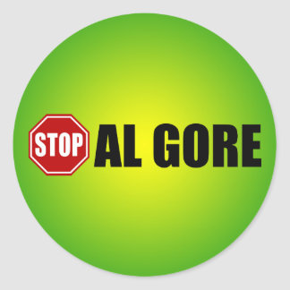 Stop Al Gore Sticker