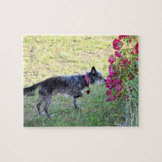 Stop and Smell the Flowers Jigsaw Puzzle