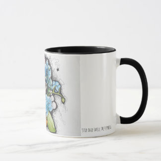 Stop and smell the flowers - Kitten Mug
