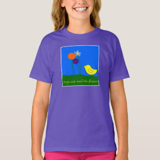 Stop and Smell the Flowers Tees