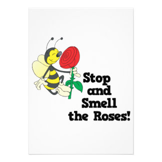 stop and smell the roses announcements