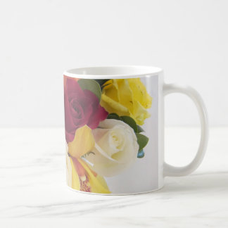Stop and Smell the Roses Notebook Basic White Mug