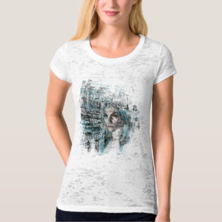 stop and stare (ladies burnout tshirt) T-Shirt