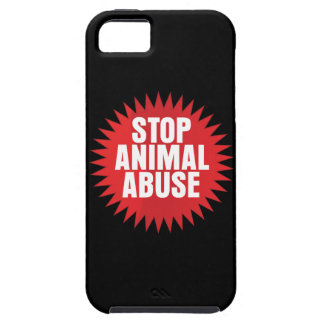 Stop Animal Abuse iPhone 5 Cover
