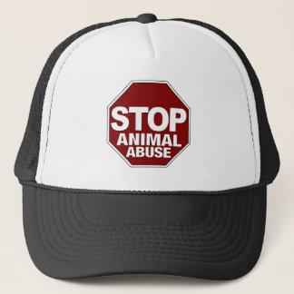 Stop Animal Abuse Trucker Hat