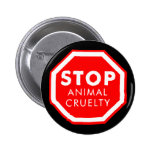 Stop Animal Cruelty Buttons
