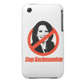 STOP BACHMANNISM Case-Mate iPhone 3 CASES