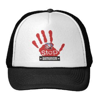 stop bamunism mesh hat