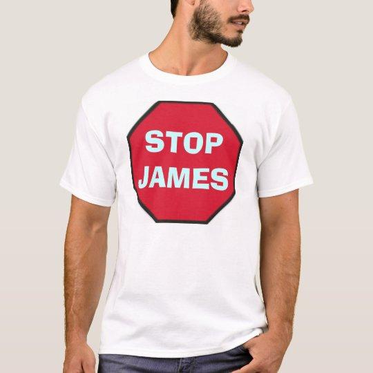 stop_blank, STOPJAMES T-Shirt