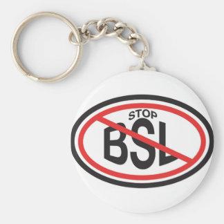 STOP Breed Specific Legislation Key Ring