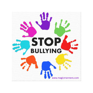 Stop Bullying Canvas Art