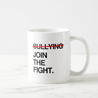 STOP BULLYING JOIN THE FIGHT BASIC WHITE MUG