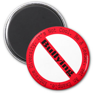 Stop Bullying-Logo by Shirley Taylor 6 Cm Round Magnet
