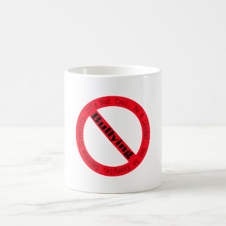 Stop Bullying-Logo by Shirley Taylor Coffee Mug