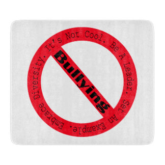 Stop Bullying-Logo by Shirley Taylor Cutting Boards
