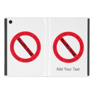 Stop Bullying-Logo by Shirley Taylor iPad Mini Cases