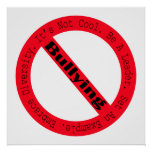 Stop Bullying-Logo by Shirley Taylor Poster
