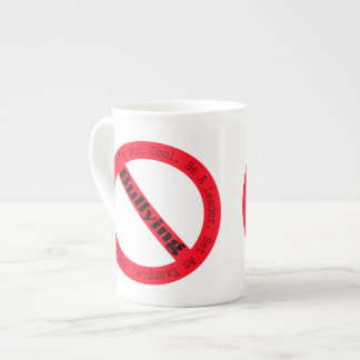 Stop Bullying-Logo by Shirley Taylor Tea Cup