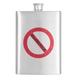 Stop Bullying-Logo Hip Flasks