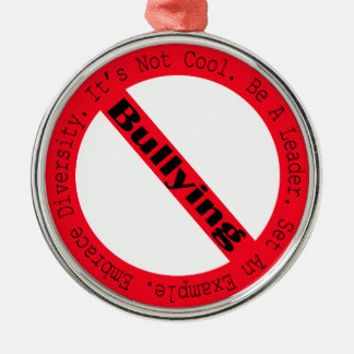 Stop Bullying-Logo Christmas Tree Ornaments