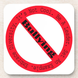 Stop Bullying-Logo Drink Coaster