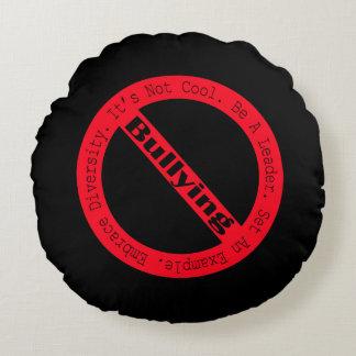 Stop Bullying-Logo Round Pillow