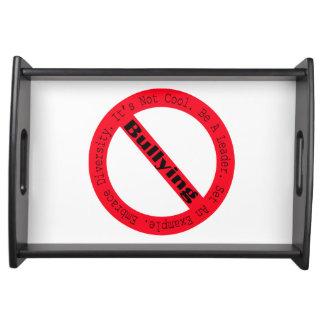 Stop Bullying-Logo Food Trays